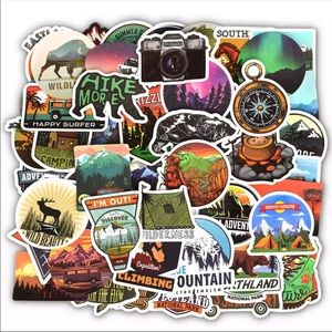 5 mystery stickers